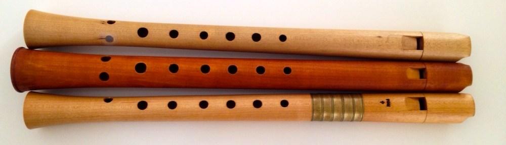 Flautas Ganassi de Monika Musch, Bob Marvin y Fred Morgan