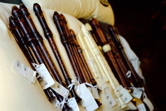 Flautas originales del siglo 18