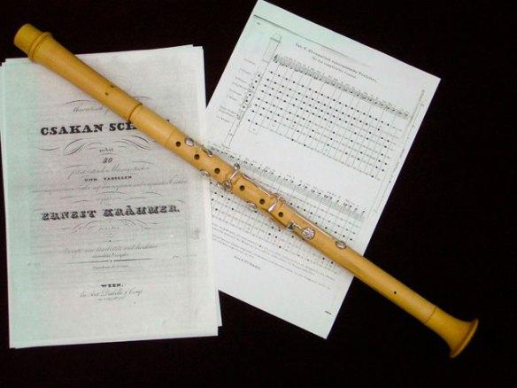 El csakan, un instrumento del siglo XIX