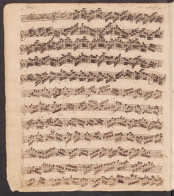Bach - Partita in A minor BWV 1013
