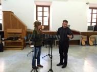 Dan Laurin recorder masterclass in Sevilla - Milena Cord-to-Krax
