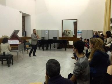 Dan Laurin & Anna Paradiso recital at Sevilla conservatory