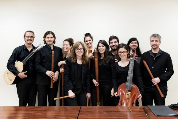 Clase de flauta de pico del Conservatorio Superior de Música «Manuel Castillo» de Sevilla