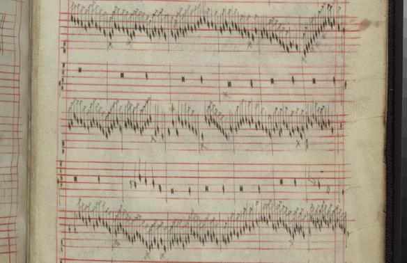 Fragmento del Códice Faenza