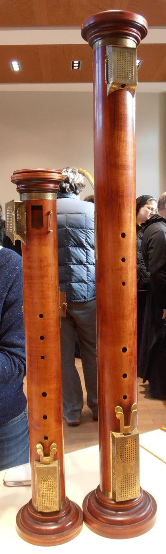 Figura 6: Flautas de columna tenor y bajo © ERTA France