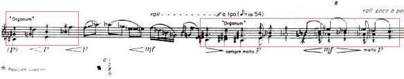 Fragmento de Ofrenda - Mario Lavista - Multifónicos