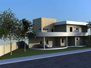 Arquitetura em campinas - projeto de casa em linhas curvas