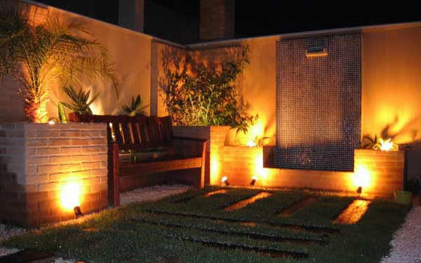 Iluminação de jardim - paisagismo jundiaí