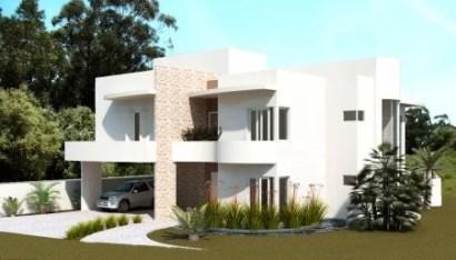 Projeto de arquitetura - Fachada Moderna