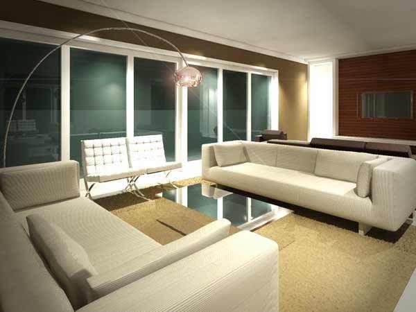 projeto arquitetura interiores decoracao sala de estar panamby arquiteta flavia medina