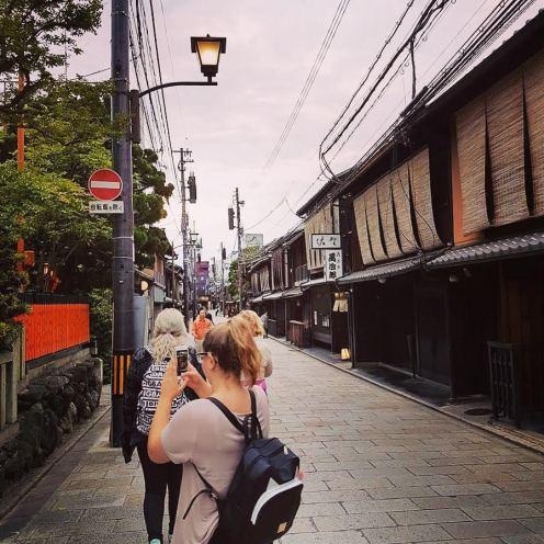 instagramming in Kyoto