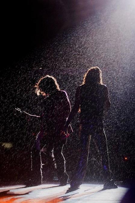 Aerosmith, show realizado no dia 30 de outubro de 2011 na Arena Anhembi em São Paulo/SP/Brasil