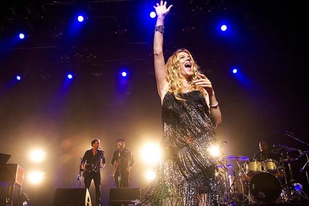 SÃO PAULO -11/03/2015 – JOSS STONE – CITIBANK HALL A cantora inglesa Joss Stone apresentou-se nesta quarta-feira dia 11 de março de 2015 no Citibank Hall, zona sul da cidade de São Paulo. O show faz parte da turnê Total World, iniciada em abril do ano passado. O repertório da apresentação contou com músicas que alavancaram a carreira de Joss, bem como canções de seu próximo álbum,Water For Your Soul, o sétimo da carreira, que deve chegar às lojas no segundo semestre de 2015. Foto: Flavio Hopp/Brazil Photo Press