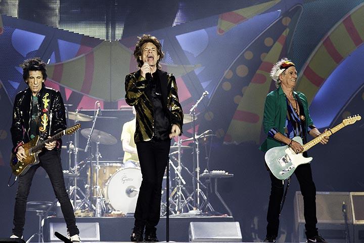 SÃO PAULO,SP, 27.02.2016 - ROLLING-STONES - A banda britânica Rolling Stones, durante apresentação no estádio do Morumbi, na cidade de São Paulo, na noite deste sábado 27. (Foto: Flavio Hopp / Comando Rock)