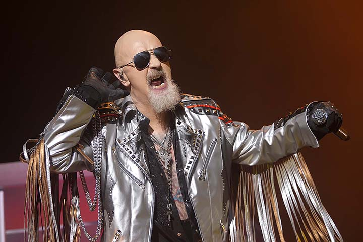 SÃO PAULO,SP, 10.11.2018 - SOLID ROCK - JUDAS PRIEST - ALLIANZ ARENA - Judas Priest durante apresentação no Solid Rockl realizado no Allianz Parque, zona oeste da cidade de São Paulo/SP, na noite deste sábado, 10.