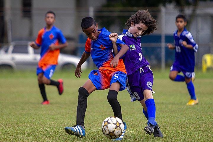 Santos (SP), 16/02/2020 - 1ª Copa Robinho de Futebol de Base