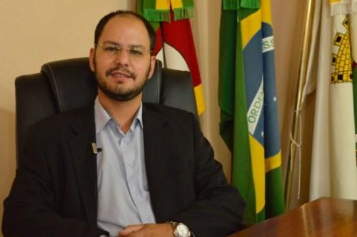 prefeito de Caçapava do Sul Giovani Amestoy (PDT) Foto divulgação.