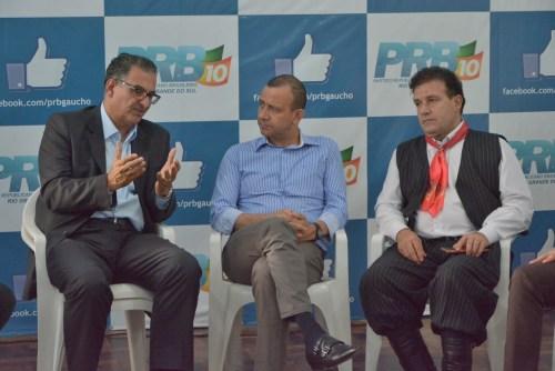 Jairo Jorge, Carlos Gomes e Pompeo de Mattos
