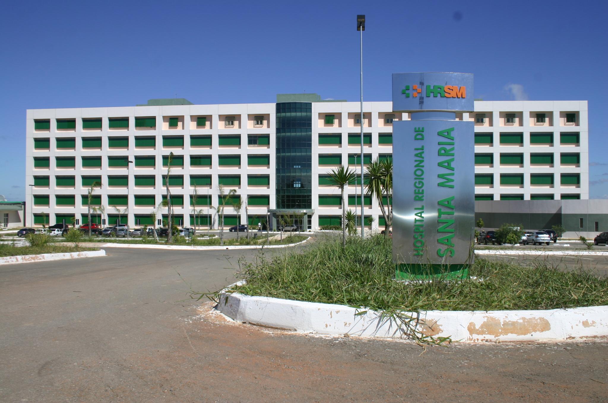 HOSPITAL REGIONAL DE SANTA MARIA: EM JULHO