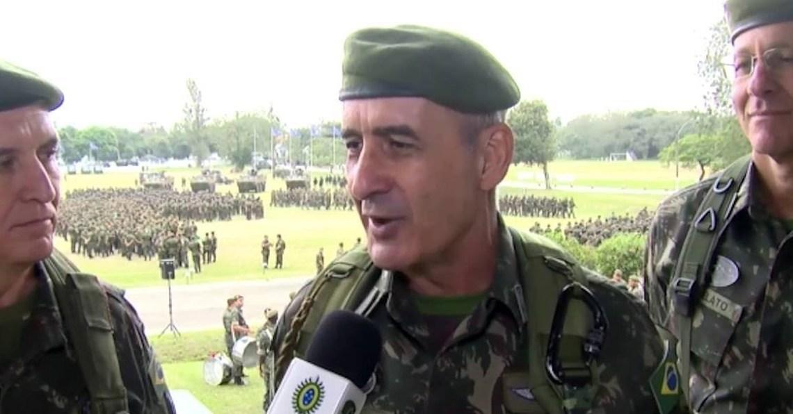 COMANDANTE DO SUDESTE DEFENDE CUMPRIMENTO DA LEI,E IRRITA ESQUERDA