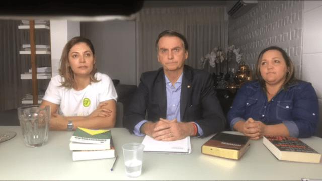 BOLSONARO LÁ, EDUARDO LEITE AQUI