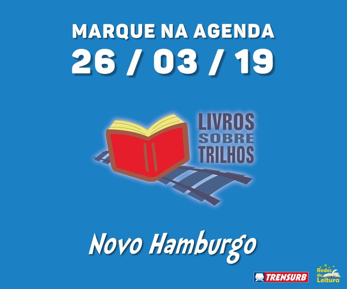 TRENSURB INAUGURA NOVA UNIDADE DO ESPAÇO MULTICULTURAL LIVROS SOBRE TRILHOS EM NOVO HAMBURGO