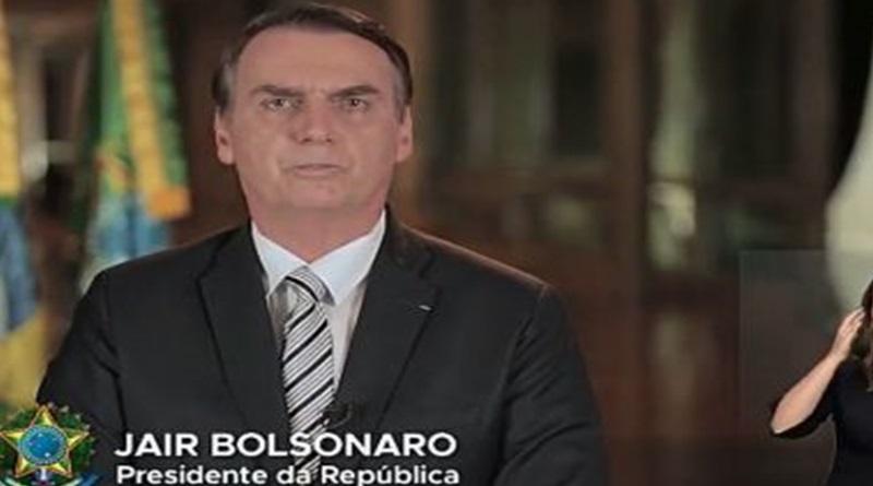 """JAIR BOLSONARO: """"QUEM ESPALHA QUE VAMOS DE MAL A PIOR, MANIFESTA UM DESEJO, NÃO A REALIDADE."""""""