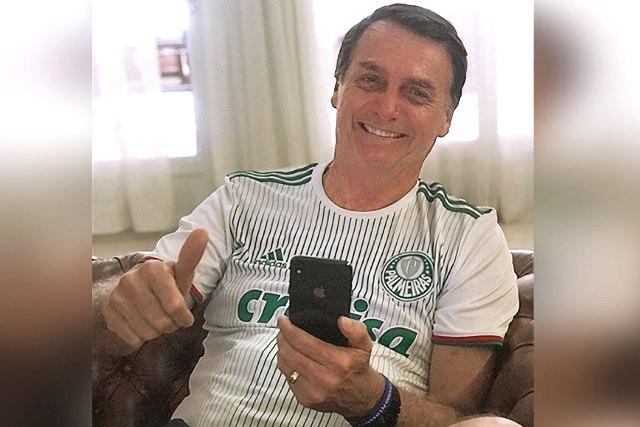 BOLSONARO É O TERCEIRO NO MUNDO EM APOIO NAS REDES SOCIAIS.