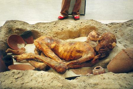 Múmia no British Museum