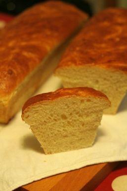 Paine cu lapte pentru sandwichuri (pain-au-lait)