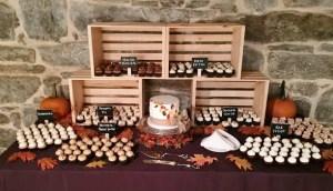 fall harvest wedding display2