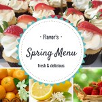 Leap into Spring With Flavor Cupcakery & Bake Shop's Spring Menu!