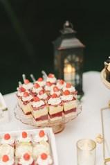 parfait wedding display - Elizabeth Fogarty Photography