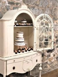 antique furniture wedding display 2