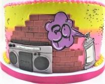 graffiti cake 3