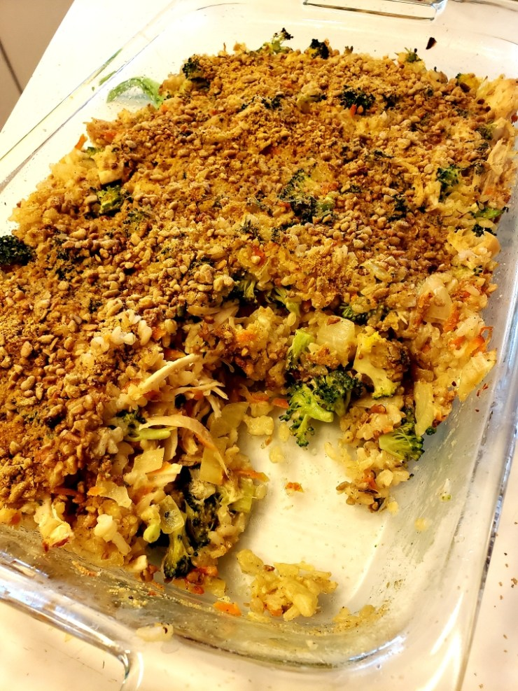 creamy broccoli chicken casserole