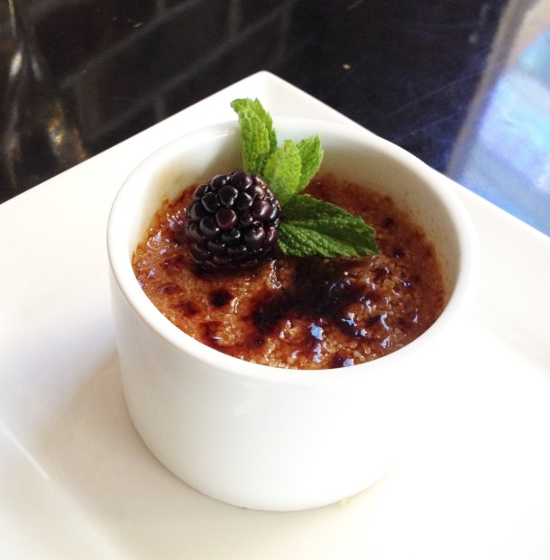 Image: Chef Daniel Billheimer's Chambord Crème Brulee