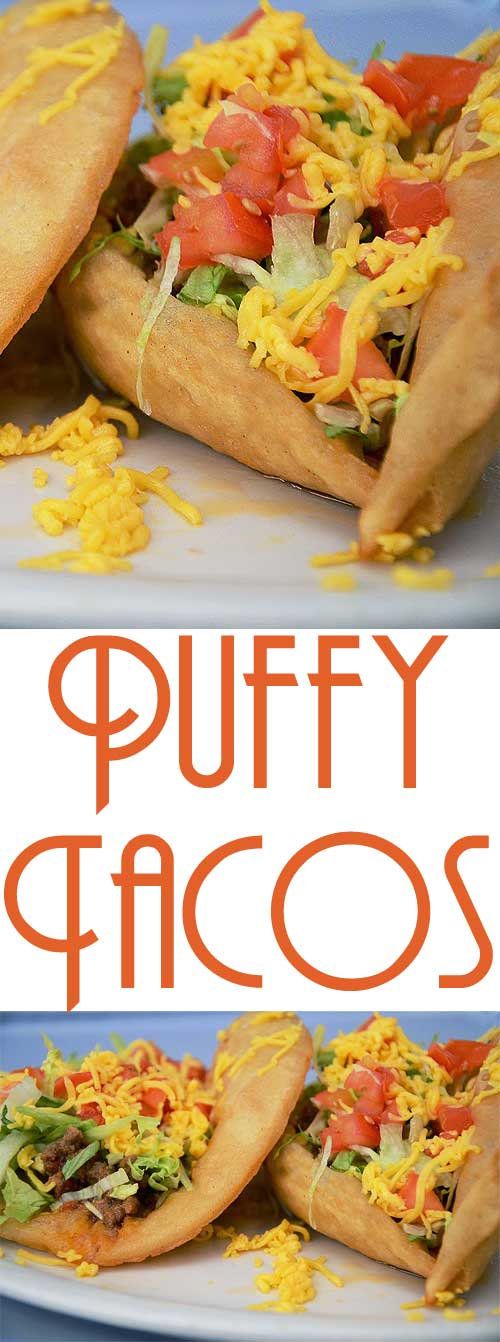 You could use any of your favorite taco ingredients with these Puffy Taco Shells! #tacotuesday #tacorecipe