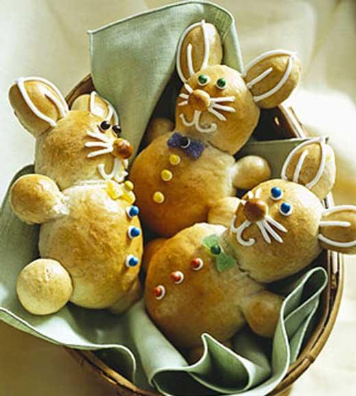 Cinnamon Bunny Bread