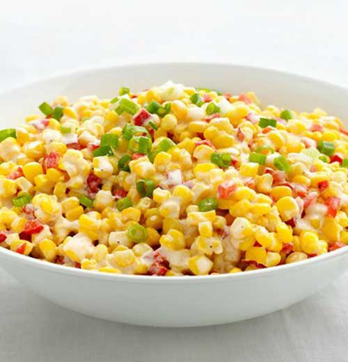 Recipe for Confetti Creamed Corn