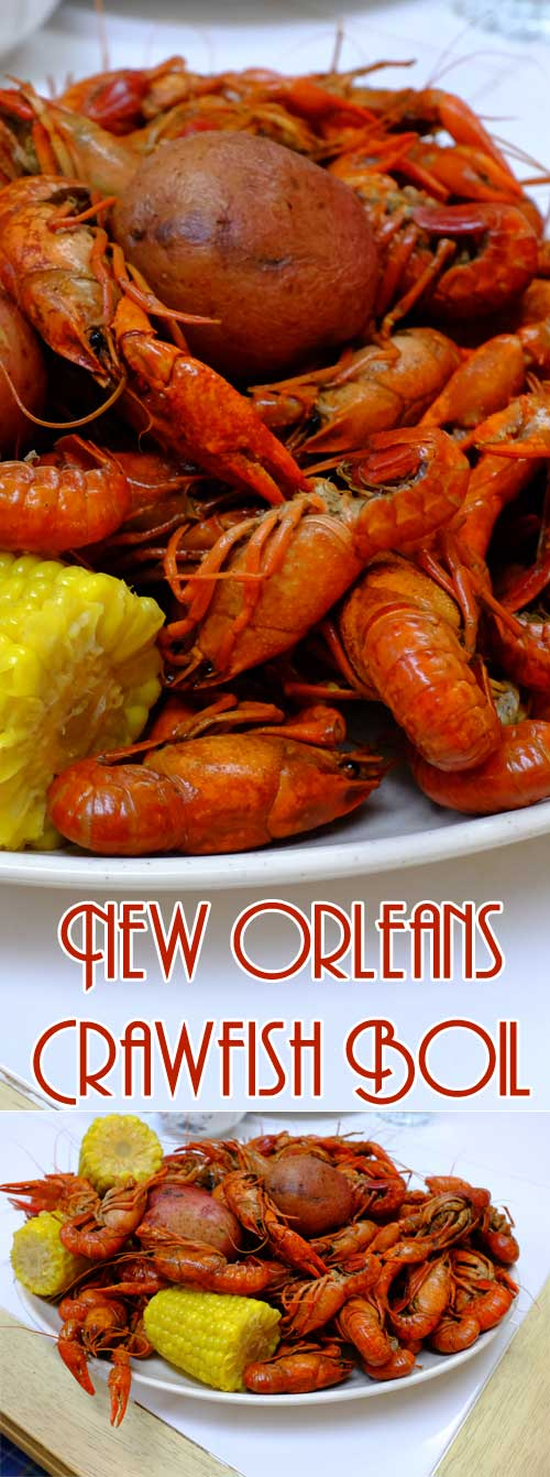 There are plenty of ways to enjoy crawfish, but if you want to be a purist, getting elbow-deep into a spicyNew Orleans Crawfish Boil is definitely the way to go! #cajun #summer #seafood #shellfish