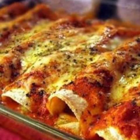 Recipe for Spicy Chicken Enchiladas