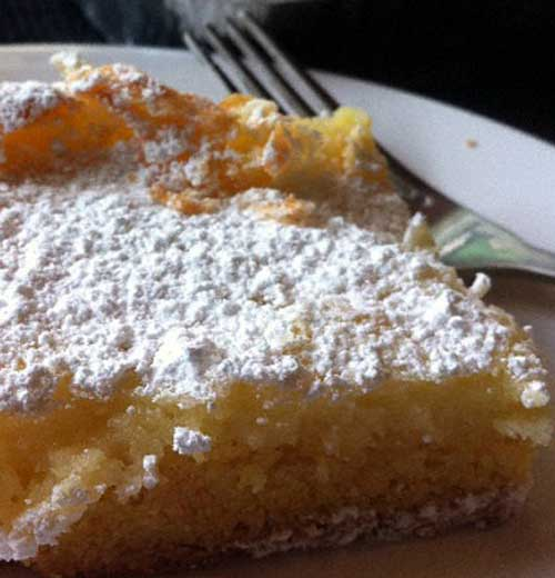 The cake was first made by accident in the 1930s by a St. Louis-area German American baker who was trying to make regular cake batter but reversed the proportions of sugar and flour, hence the St. Louis Gooey Butter Cake was born!!