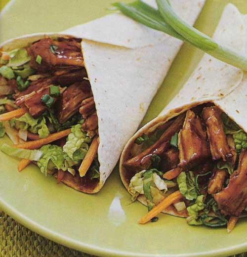 Moo Shu Pork Wraps