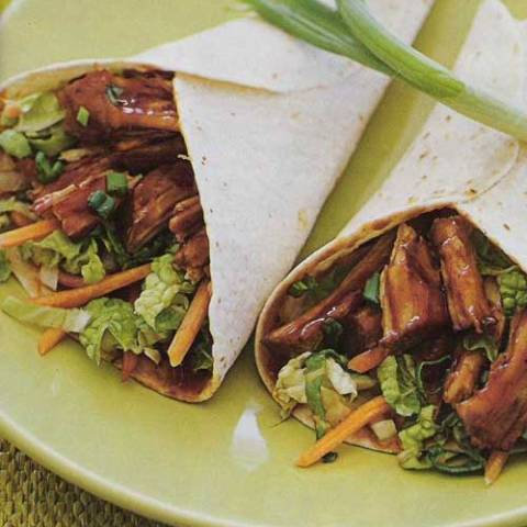 Recipe for Moo Shu Pork Wraps