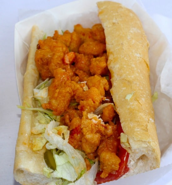 New Orleans Oyster Po Boy