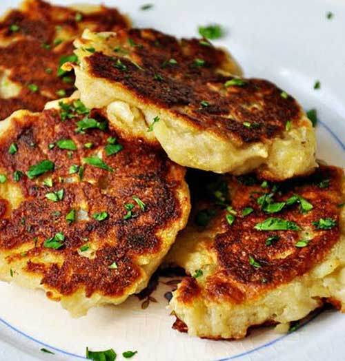 Traditional Irish Potato Pancakes