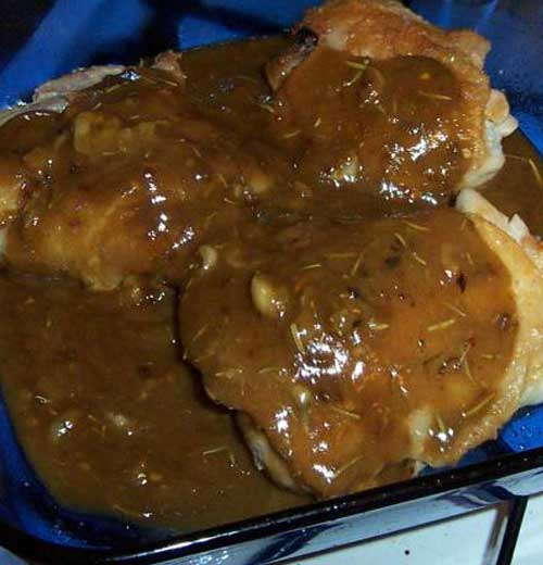 Southern Comfort Baked Chicken Breasts