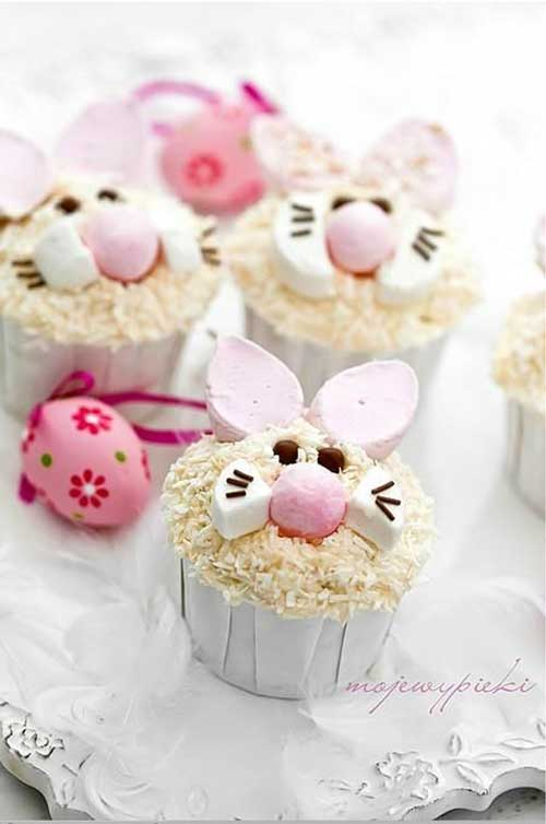 Happy Early Easter everyone! How cute are these Bunny Cupcakes?  Well, you can make them, AND they are even easier than you might think!