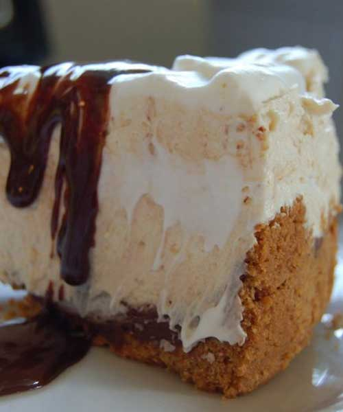 Tomorrow is Pi(e) day. You know Pi, 3.14. So in honor of that, we are sharing this awesome chocolate peanut butter pie recipe with you. Think giant peanut butter cup...only better!